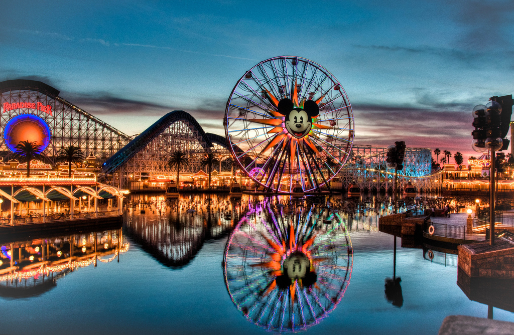 Paradise Pier before the changes