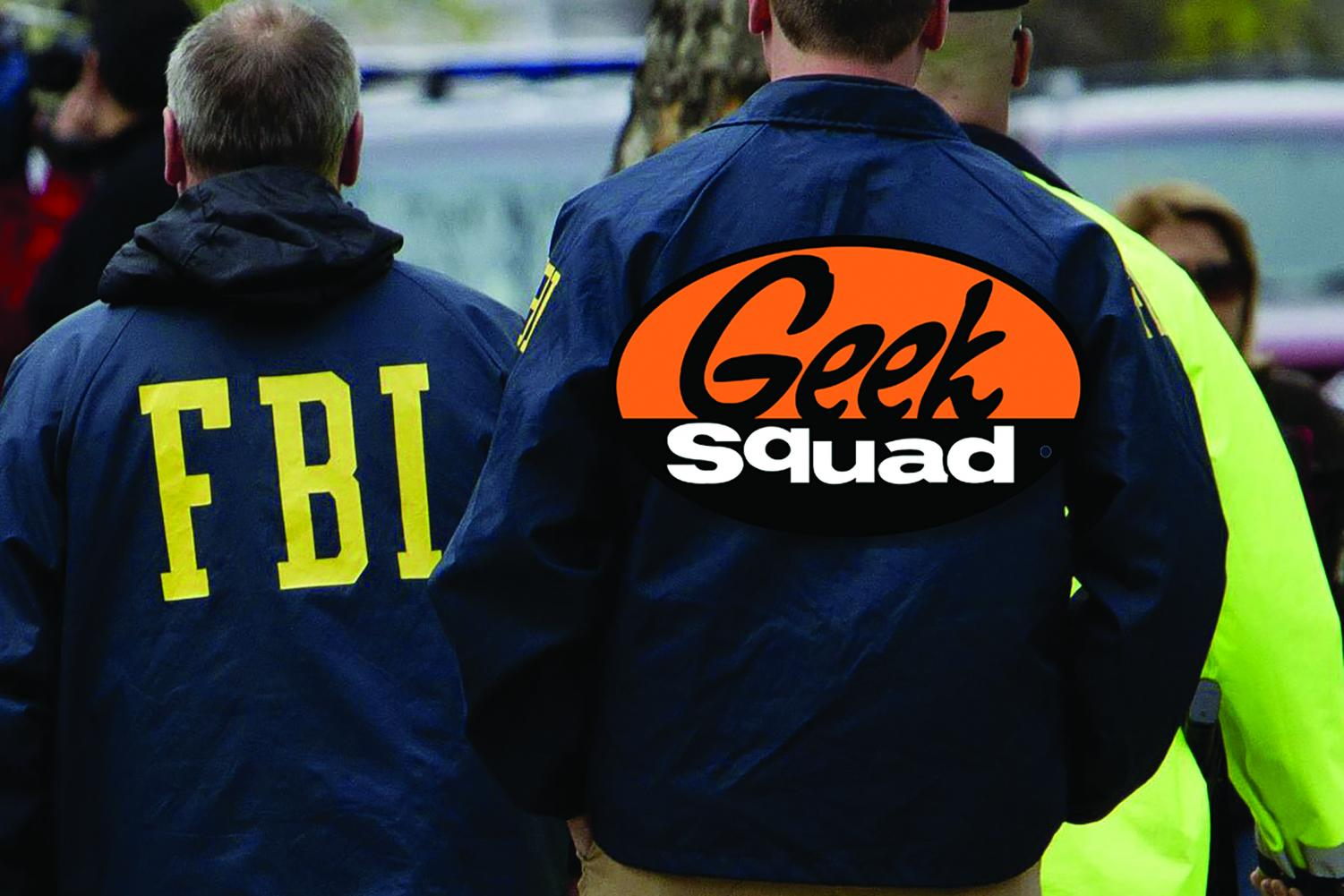 The relationship between the Geek Squad and FBI has already led to the arrest of one man last January.