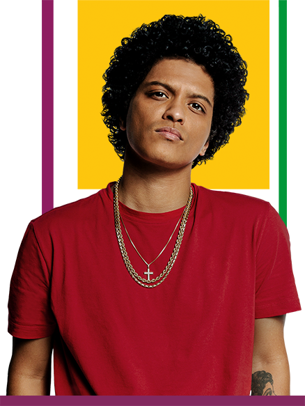 Photo courtesy of brunomars.com