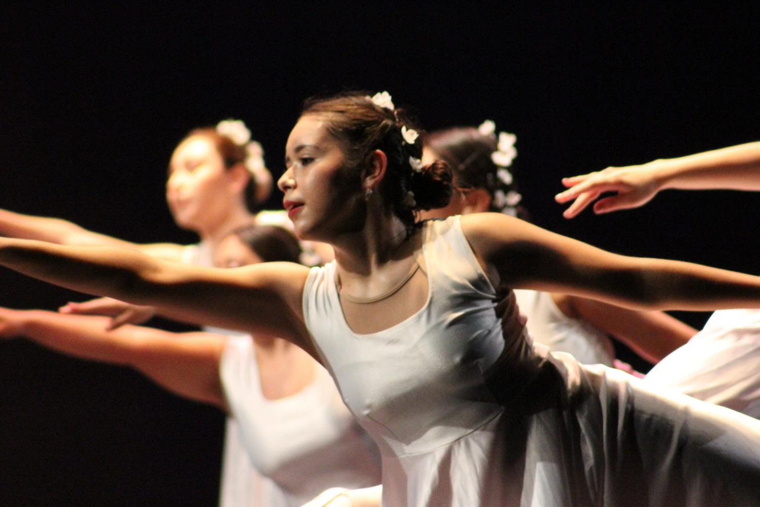 Members of the Rio Hondo Dance Program performed a number of pieces inspired by world-renowned dance professionals.