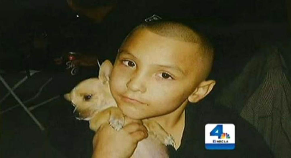 Eight-year-old Gabriel Fernandez, seen in this undated picture, died after his mother's boyfriend, Isauro Aguirre, allegedly beat and tortured the boy. The boy had only recently been returned to his mother's care despite more than 60 complaints of child abuse and eight investigations by the Department of Child and Family Services.