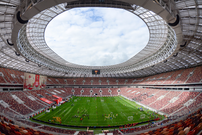 Luzhniki+Stadium+in+Moscow+will+crown+the+winner+of+Russia%27s+World+Cup+2018.