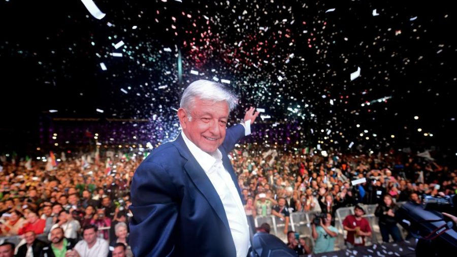 AMLO New Elected Mexican President