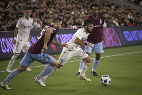 Major League Soccer: LAFC Uses Second Half to Get Passed Colorado