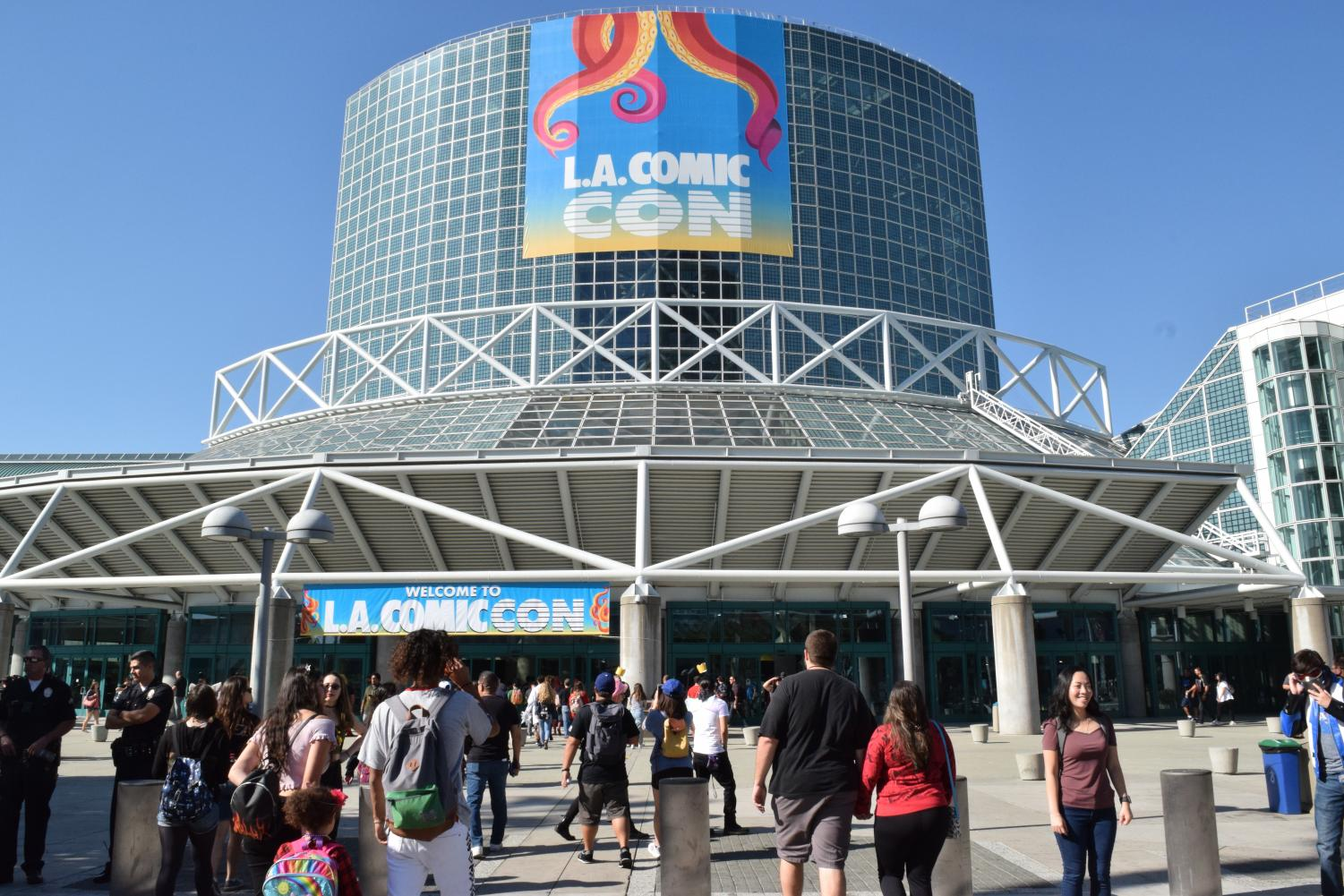 Los Angeles Comic Con hosted at the LA Convention Center has re branded its name. From Comikaze Expo and then Stan Lee's Comikaze and now calling themselves LA Comic Con.