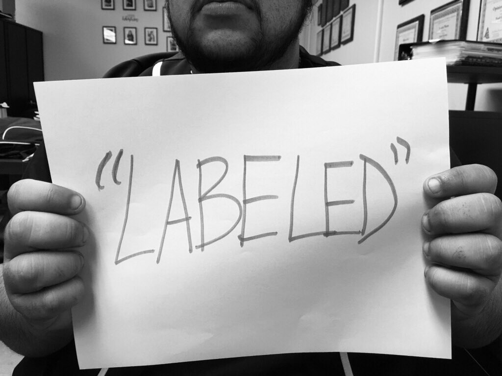 Labeling is not always a bad thing. In fact, it is a helpful tool to identify with. Therefore, why should it be a bad thing to label or follow the labels that one can identify with?