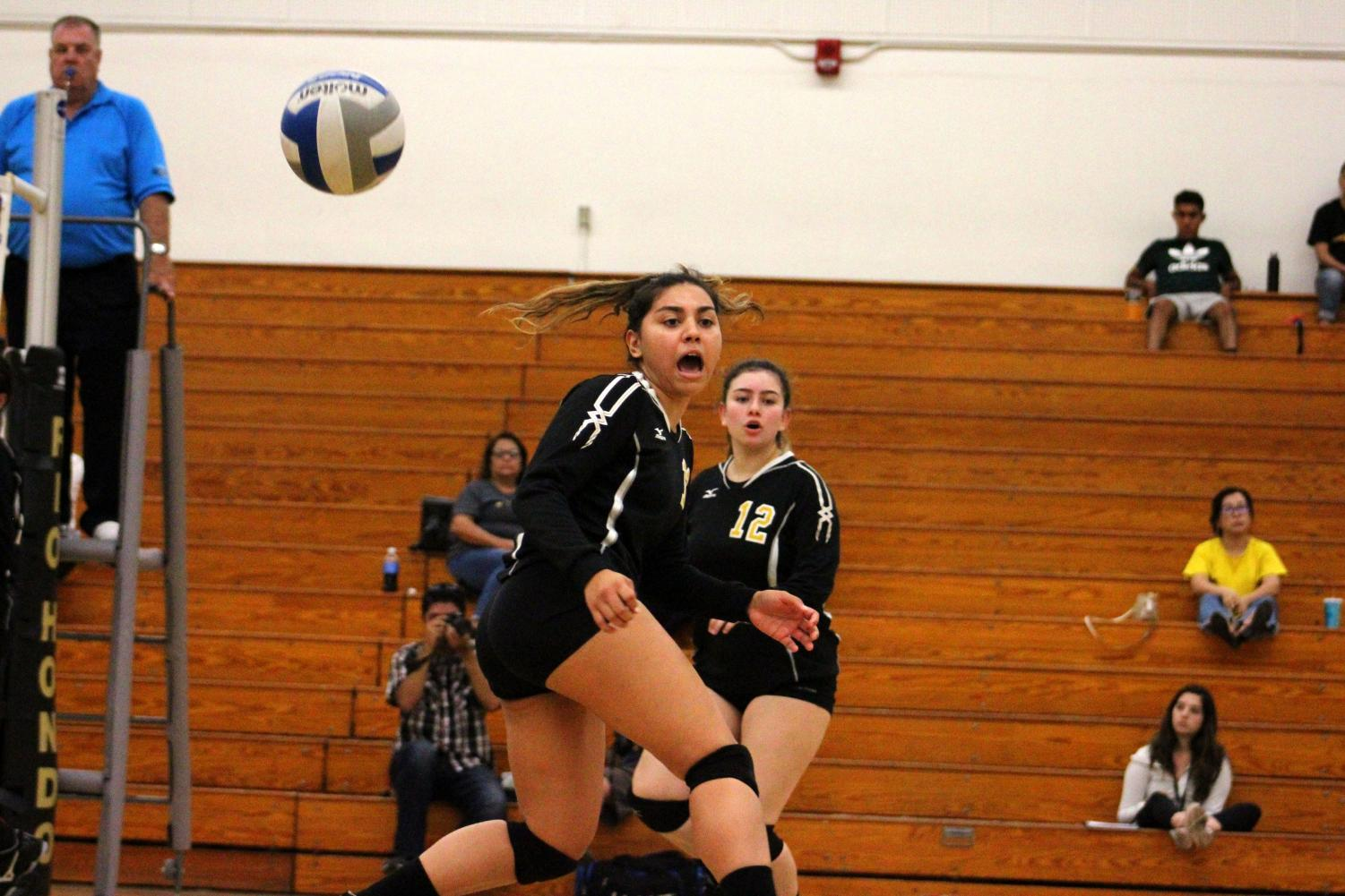 The Rio Hondo Roadrunners were swept at the hands of Pasadena City College Wednesday, Oct. 10. Rio is 1-2 in conference. Photo credit: Michael Khuraibet.