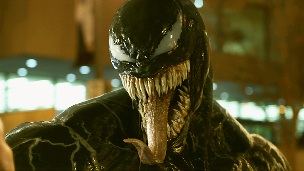 Tom Harding as Marvel's Venom.