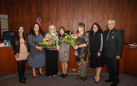 Rio Hondo Board of Trustees Say Goodbye to Mary Ann Pacheco and Madeline Shapiro