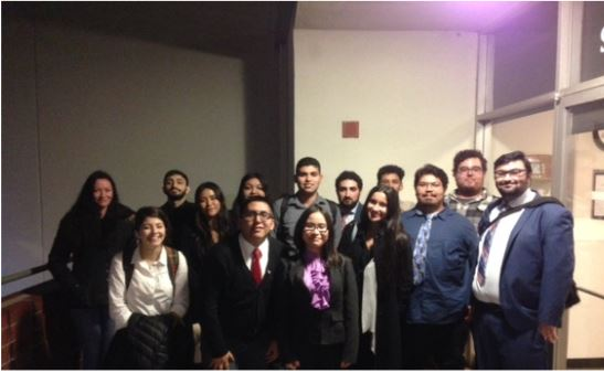 Rio Hondo Speech & Debate Team after a successful weekend of competition.