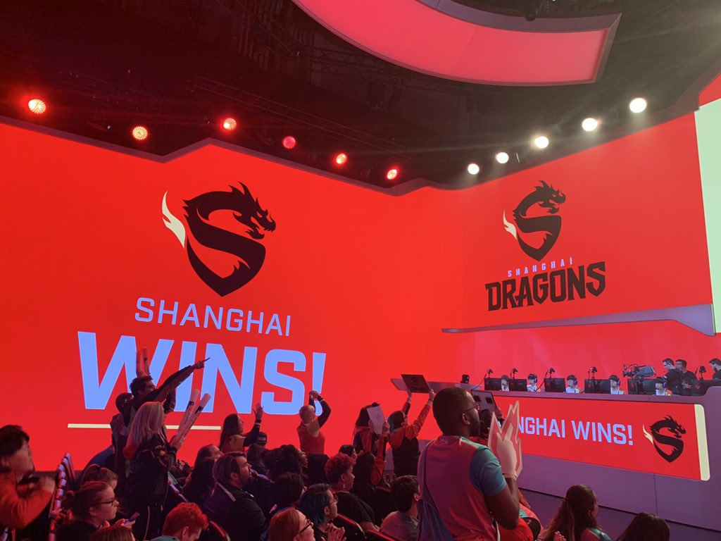 The Shanghai Dragon waited over a year for their first match victory.