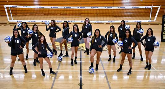 RHC Women's Volleyball Team