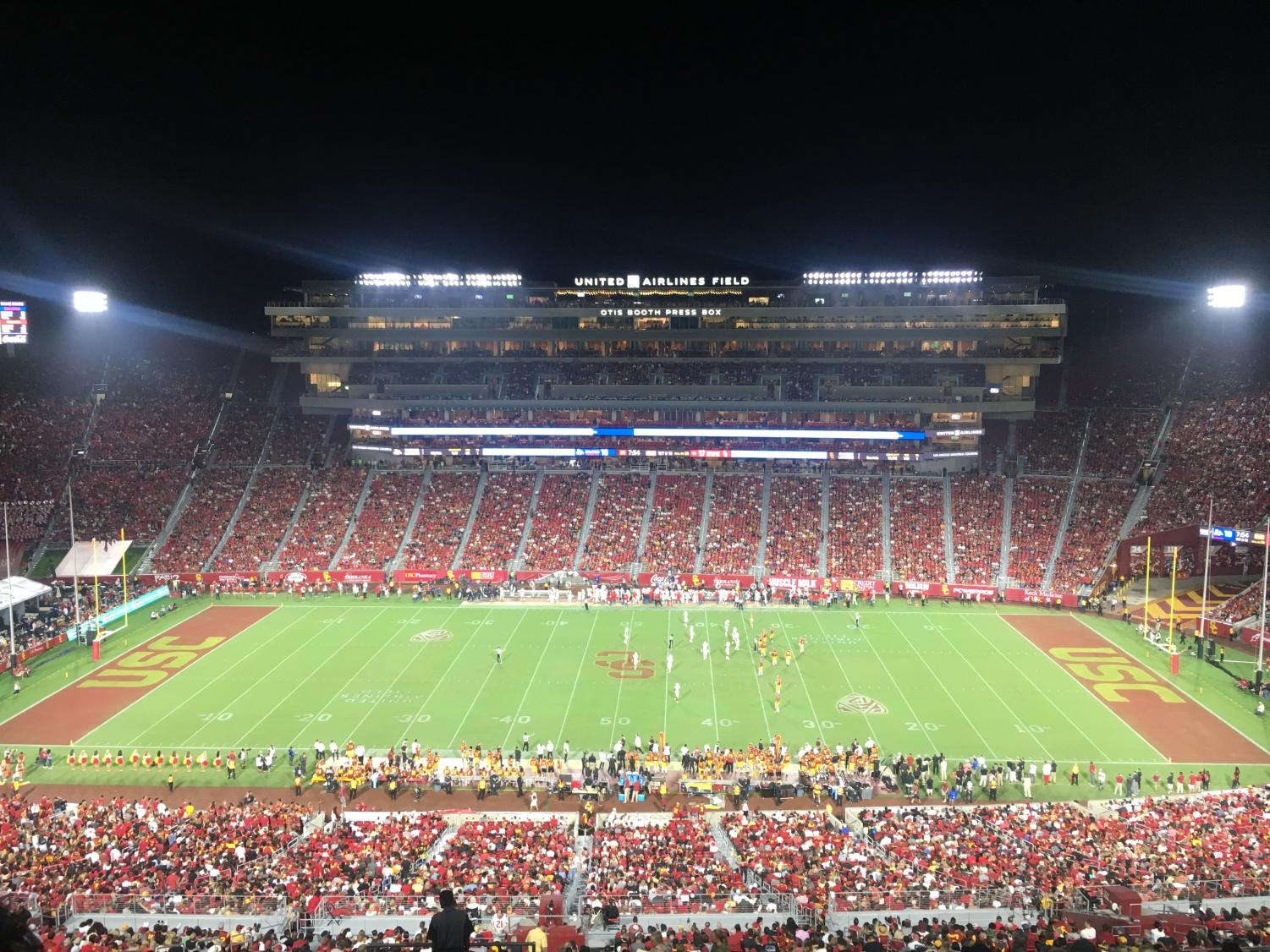 The LA Coliseum will host the battle for LA between USC and UCLA