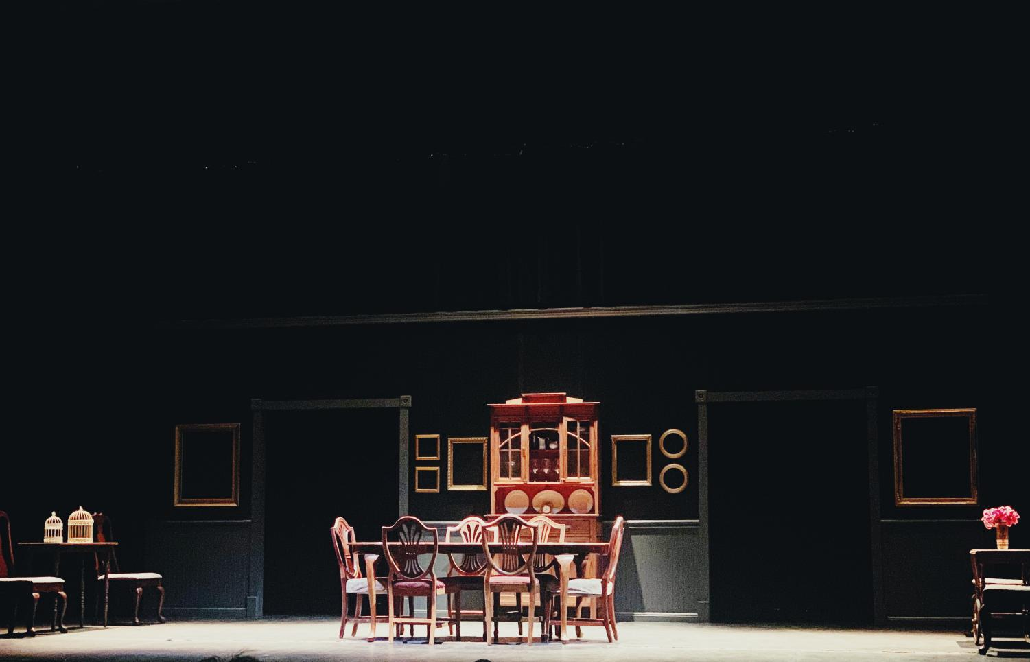 'The Dining Room' is a series of stand alone stories that revolve around a dining room table.