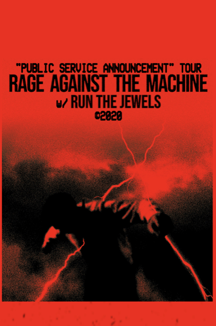Screenshot off of Rage Against the Machines offical website
