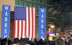 Navigation to Story: Elizabeth Warren Speaks at ELAC Day Before Super Tuesday Primary Vote