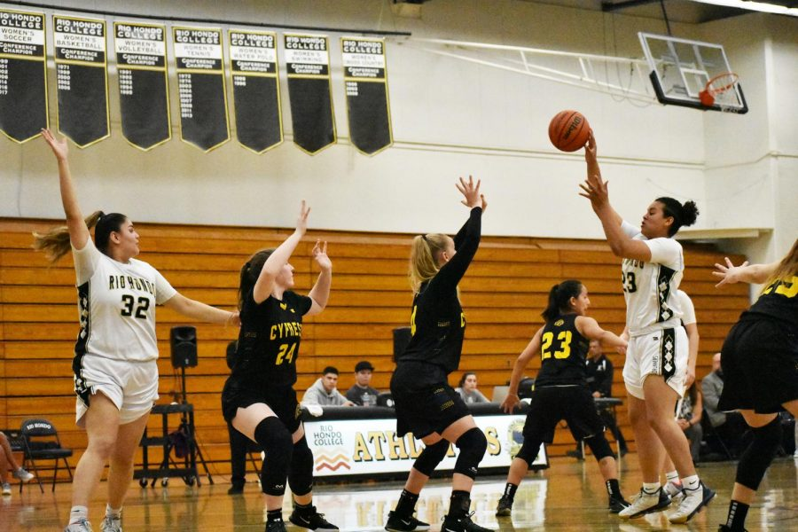 Women's Basketball: Rio Hondo Vs. Cypress