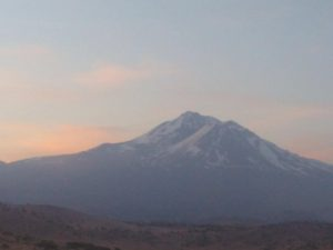 Mount Shasta is a active volcano at the southern end of the Cascade Range in Siskiyou County, California. This beast hasn't erupted since 1786. More than 60 volcanoes erupt around the world every day.