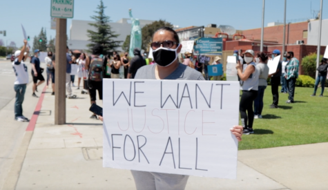 Protest against El Monte Police Department