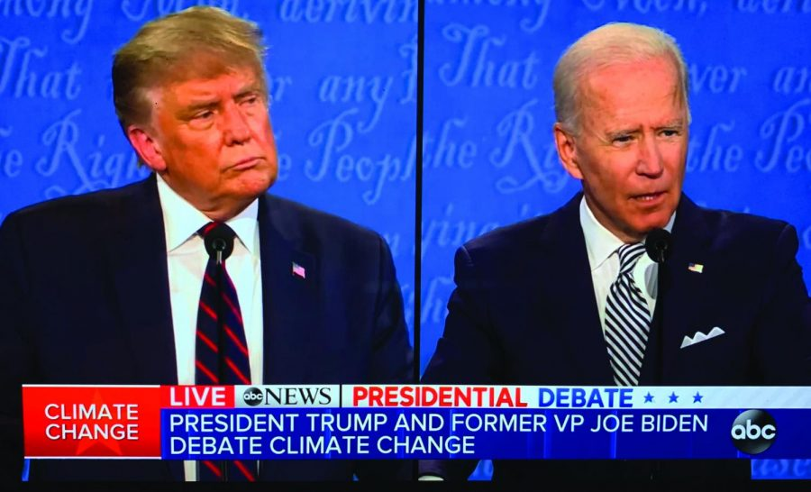 The first presidential debate of 2020 kicked off in Cleveland, Ohio. President Donald Trump and former Vice President Joe Biden were asked about different topics, from their views on healthcare to their policies on climate change.