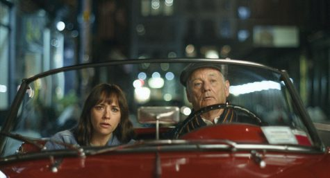"Rashida Jones and Bill Murray star in ""On The Rocks."" The story follows Laura (Jones) as she tries to find out if her husband is cheating on her. To find out, she enlists the help of her father, Felix (Murray). This is the third collaboration between Bill Murray and director Sofia Coppola."