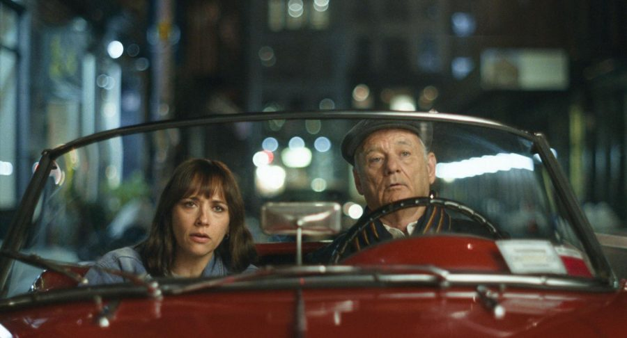 """Rashida Jones and Bill Murray star in """"On The Rocks."""" The story follows Laura (Jones) as she tries to find out if her husband is cheating on her. To find out, she enlists the help of her father, Felix (Murray). This is the third collaboration between Bill Murray and director Sofia Coppola."""
