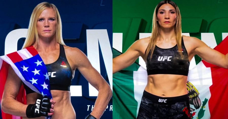 Holly+Holm+and+Irene+Aldana+face+off+for+the+first+time+at+a+Main+Card+Event.+Aldana+won+5+of+her+last+6+fights+and+has+the+2nd+highest+Striking+Rate+in+UFC+Bantamweight+History.+Holly+Holm+is+not+only+former+3-Division+Boxing+World+Champion%2C+but+has+the+3rd+highest+Takedown+Defense+in+UFC+Bantamweight+History.