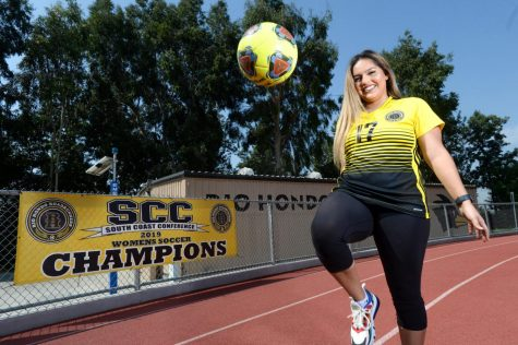 Graduating in 2017 from West Covina High School, Serina Vargas made Varsity for four years and played 37 games total. Continuing her soccer career at Rio Hondo, she helped her team gain an overall record of 15-2-3 in the 2019-2020 season.
