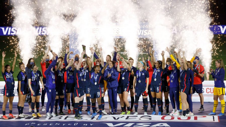United States Women's National Soccer Team has won the SheBelieves Cup in 2020, 2018, and in 2016. They also have won the Women's World Cup four times in 1991, 1999, 2015, and 2019.