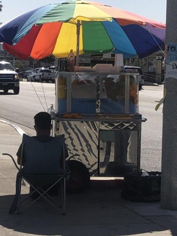 Vendors around the East Los Angeles area are relatively safe compared to neighborhoods such as Compton or San Pedro.
