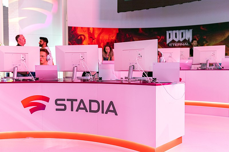 Google's Stadia showcase at Gamescom Cologne in 2019. Exhibitions like this made bold promises early in Stadia's lifetime. Google clearly defined it's expectations for the platform, but failed to meet them.