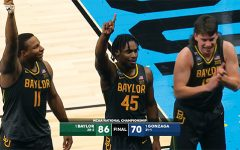 Navigation to Story: Baylor Bears defeat undefeated Gonzaga Bulldogs for NCAA Championship