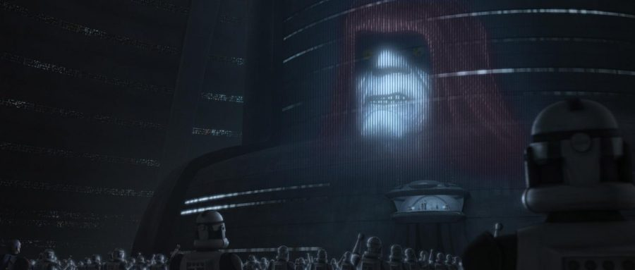 Aftermath+animated+some+of+the+scenes+from+Episode+III+of+Star+Wars.+One+of+them+being+Palpatine%27s+speech+that+created+the+Empire.+Others+included+Grevious%27+escape+from+the+beginning+of+the+movie.+