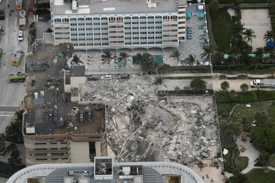 On June 24th, 2021, the eastern side of the Champlain Towers South condo in Miami-Dade County, FL collapsed. As of Independence Day, there have been 27 known casualties and 115 people still missing.