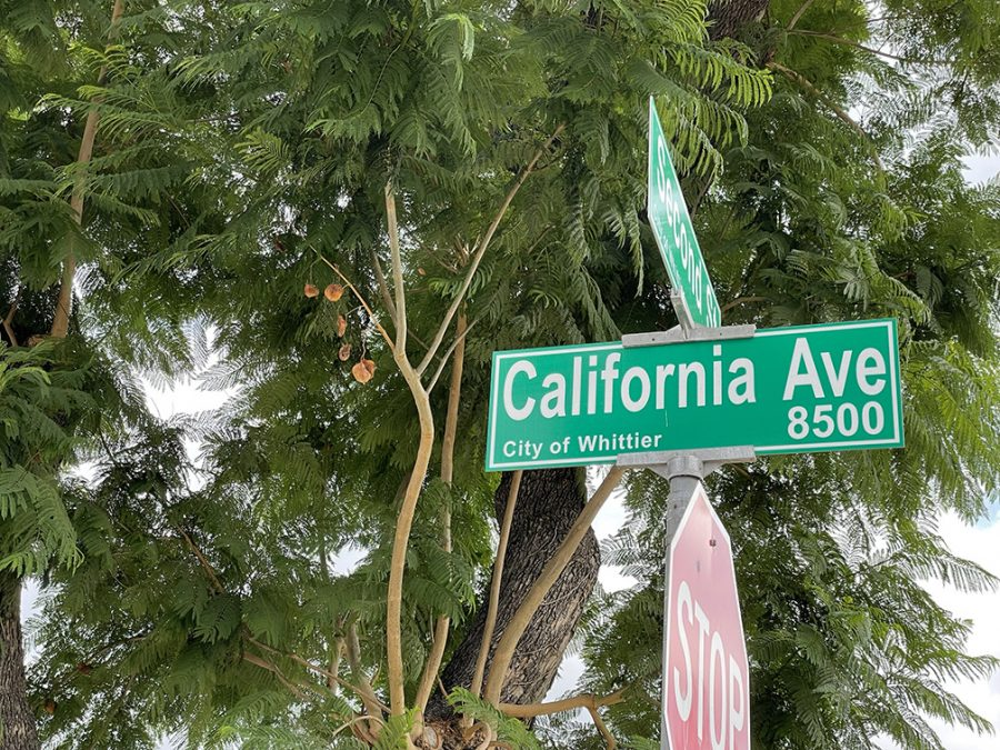 A street sign in California where Governor Newsoms new laws are taking place.
